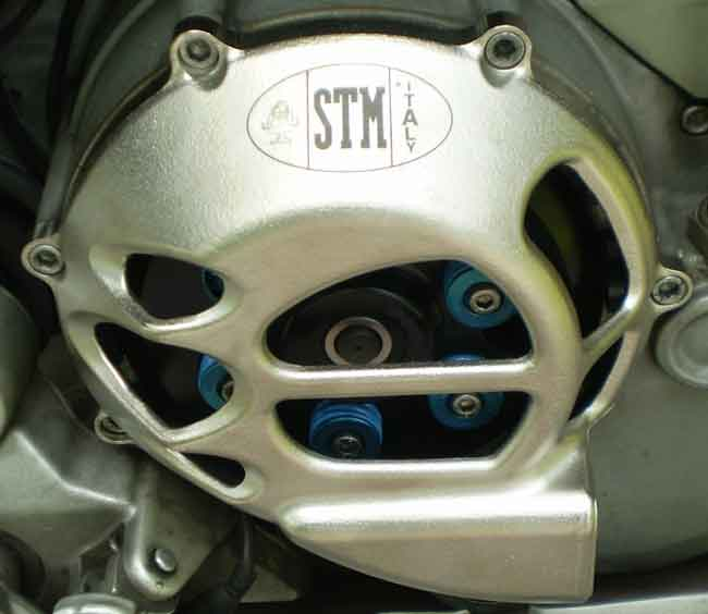 Ducati Clutch Cover - STM Hyperflow.