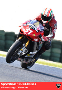 Sportsbike | DUCATIONLY Ducati 1198 developing products and racing at Phillip Island MotoGP Circuit.
